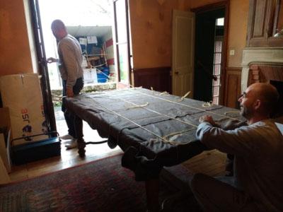 JSB Déménagements Table Emballé + Déménageurs 2 254